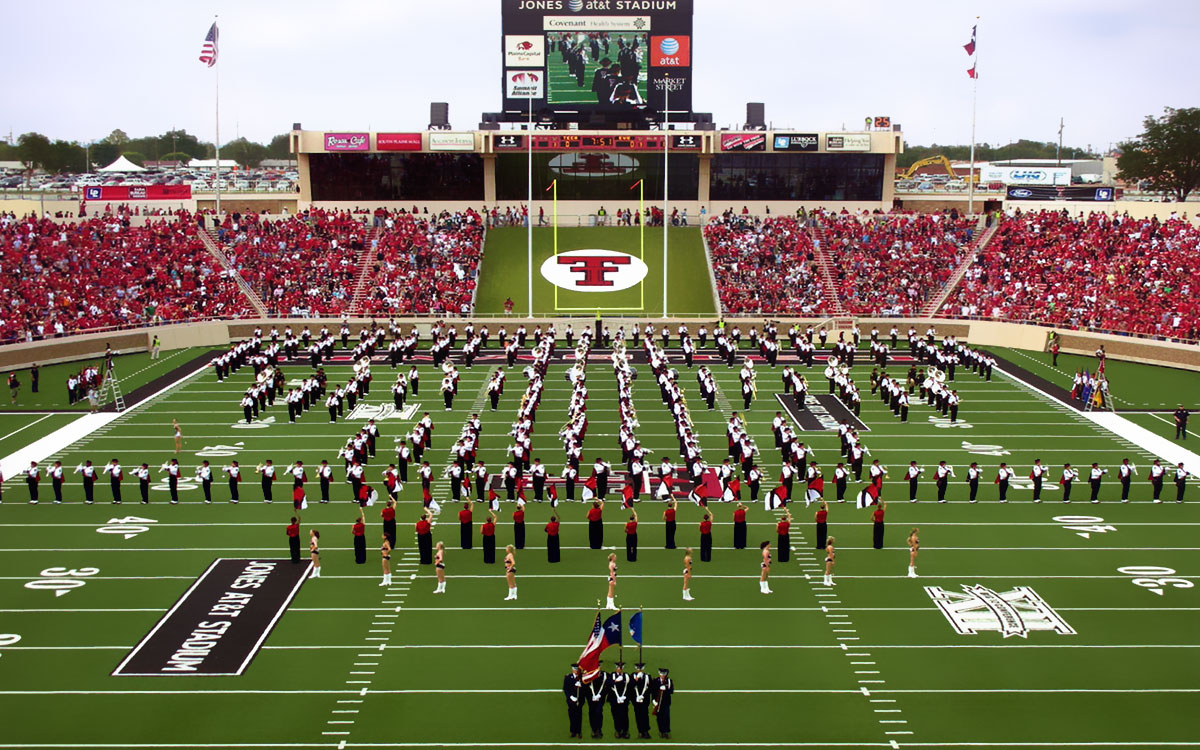 Texas Tech Football Lubbock